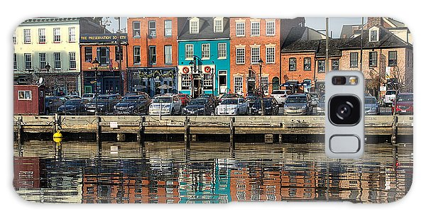 Fells Point 1 Galaxy Case by Steven Richman