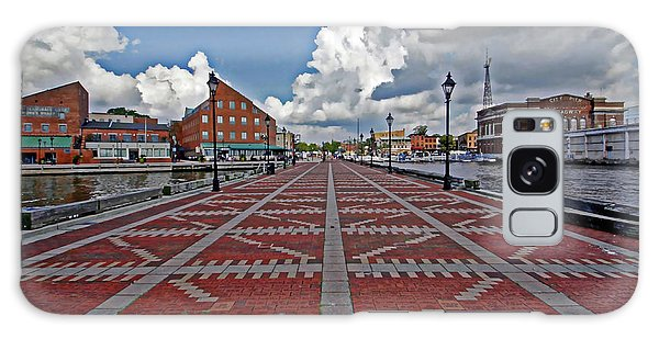 Fells Point Pier Galaxy Case by Suzanne Stout