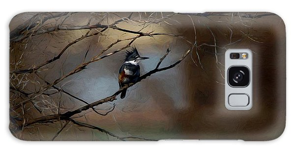 Female Belted Kingfisher 3 Galaxy Case by Ernie Echols