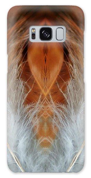 Female Feathers Galaxy Case