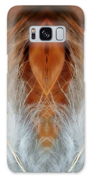 Female Feathers Galaxy Case