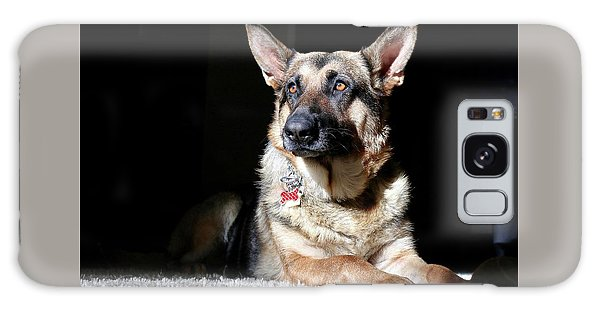 Female German Shepherd Galaxy Case