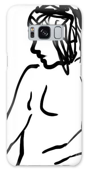 Female Nude Galaxy Case