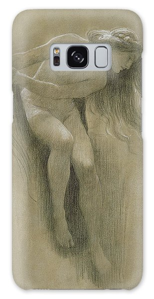 Figures Galaxy Case - Female Nude Study  by John Robert Dicksee