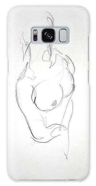 Galaxy Case - Female Nude Torso by Dave Martsolf