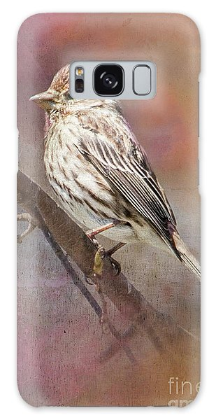 Female Sparrow On Branch Ginkelmier Inspired Galaxy Case