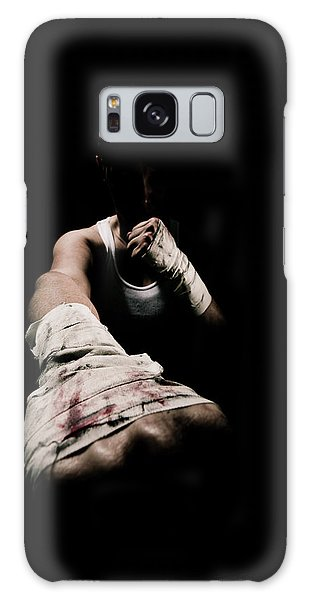 Female Toughness Galaxy Case
