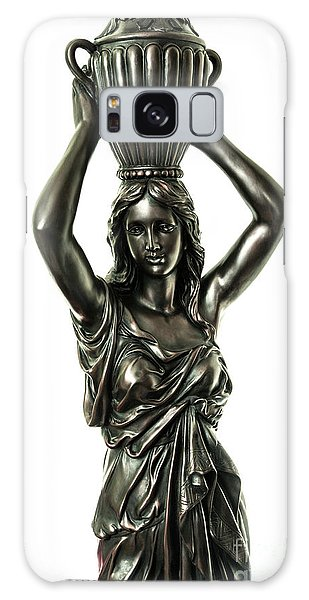 Female Water Goddess Bronze Statue 3288a Galaxy Case