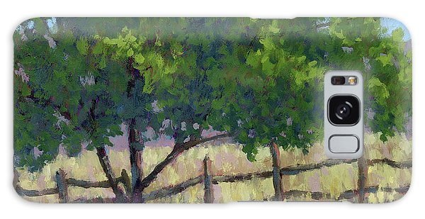 Fence Line Tree Galaxy Case