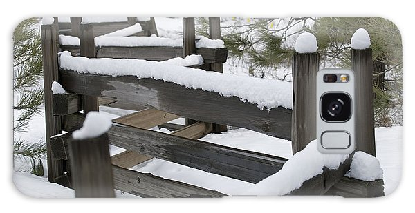 Fence Post Galaxy Case - Fence Post At Donner Lake Area Covered by Rich Reid