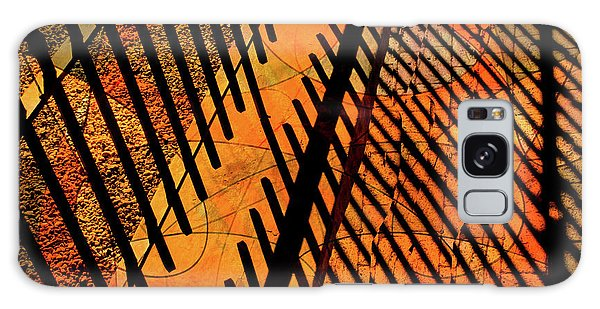 Fenced Framework Galaxy Case by Don Gradner