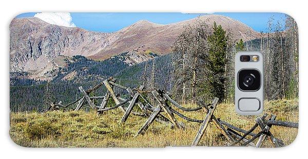 Fences Into The Rockies Galaxy Case