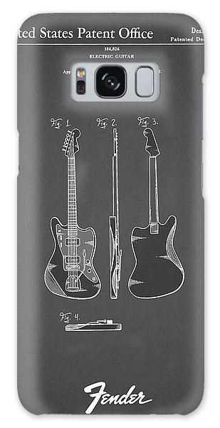 Guitar Galaxy Case - Fender Electric Guitar 1959 by Mark Rogan