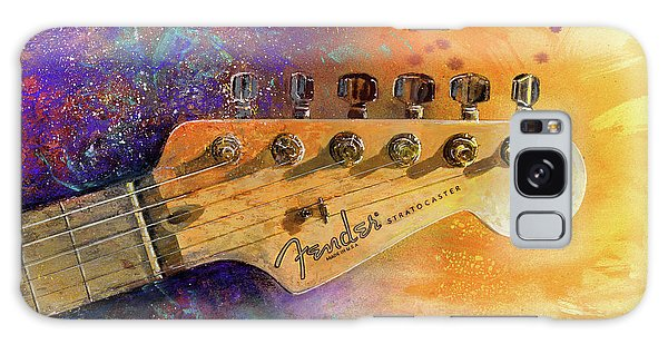 Guitar Galaxy Case - Fender Head by Andrew King