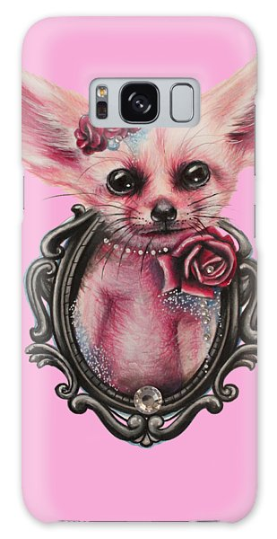 Fennec Fox Galaxy Case by Sheena Pike