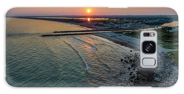 Fenway Beach Sunset Galaxy Case