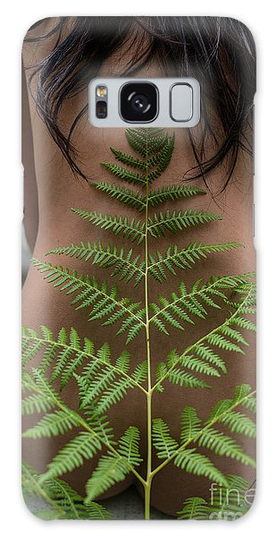 Fern And Woman Galaxy Case