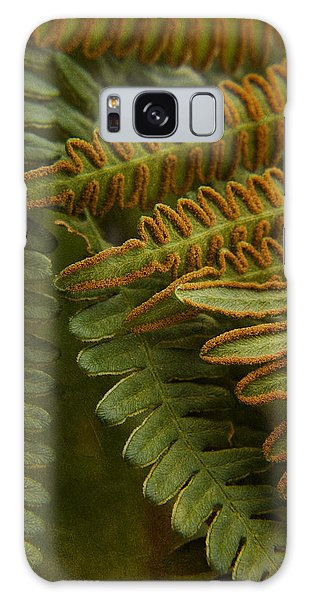 Fern In My Garden Galaxy Case by Bonnie Bruno