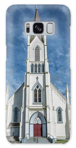 Ferndale Catholic Church Galaxy Case by Greg Nyquist
