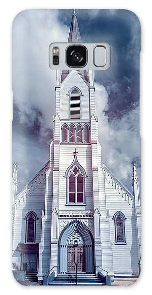 Ferndale Church In Infrared Galaxy Case by Greg Nyquist