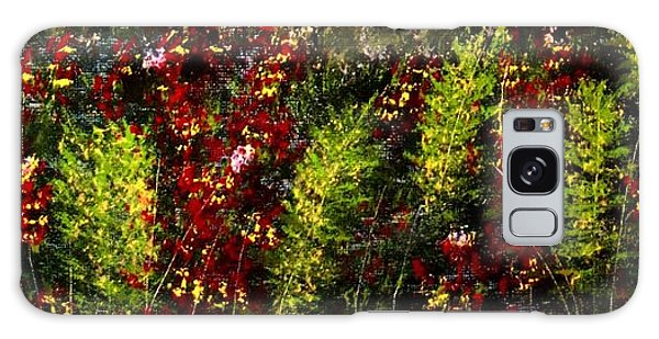 Ferns And Berries Galaxy Case by Tim Townsend
