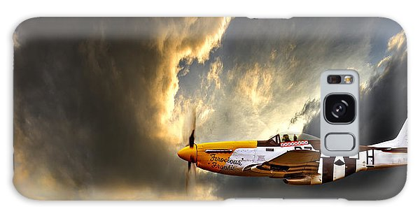 Cloud Galaxy Case - Ferocious Frankie by Meirion Matthias
