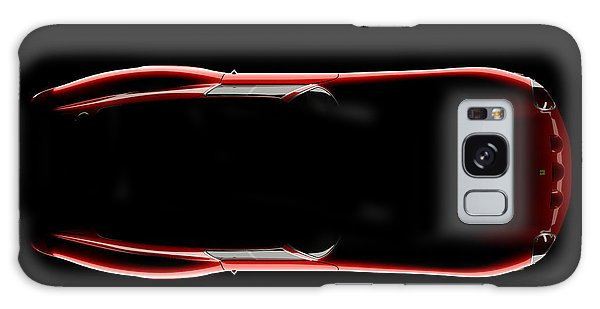 Ferrari 250 Gto - Top View Galaxy Case