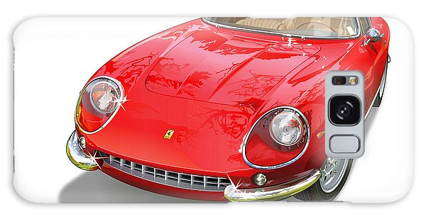 Cultural Center Galaxy Case - Ferrari 275 Gtb Illustration by Alain Jamar