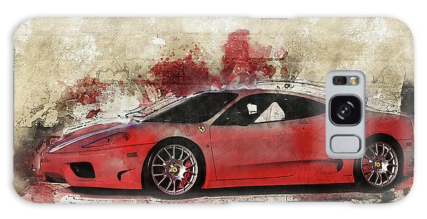 Galaxy Case featuring the photograph Ferrari 430  by Joel Witmeyer