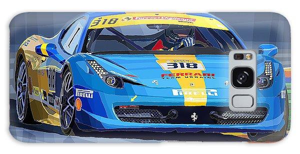 Sport Car Galaxy Case - Ferrari 458 Challenge Team Ukraine 2012 Variant by Yuriy Shevchuk