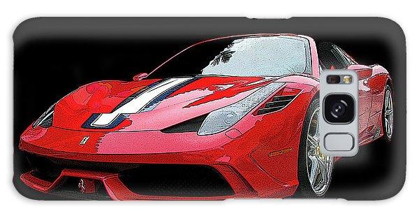 Ferrari 458 Speciale Aperta Galaxy Case