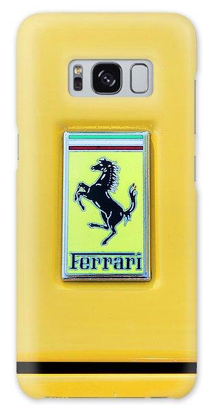 Ferrari Badge Galaxy Case by Theresa Tahara