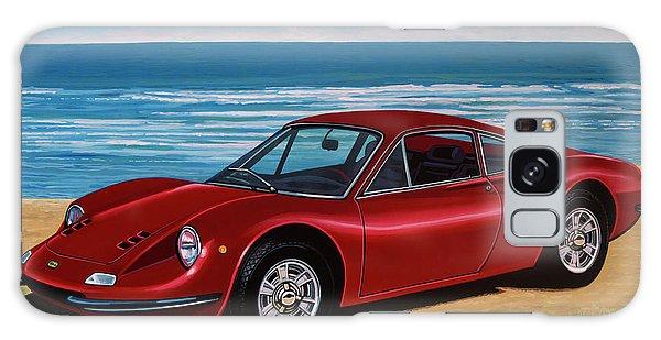 Automobile Galaxy Case - Ferrari Dino 246 Gt 1969 Painting by Paul Meijering