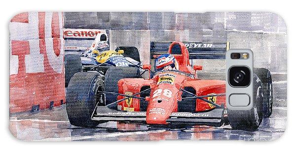 Motor Galaxy Case - 1991 Ferrari F1 Jean Alesi Phoenix Us Gp Arizona 1991 by Yuriy Shevchuk