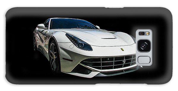 Ferrari F12 Berlinetta In White Galaxy Case