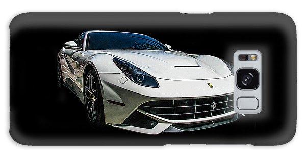 Ferrari F12 Berlinetta In White Galaxy Case by Samuel Sheats