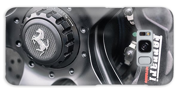 Galaxy Case featuring the photograph #ferrari #print by ItzKirb Photography