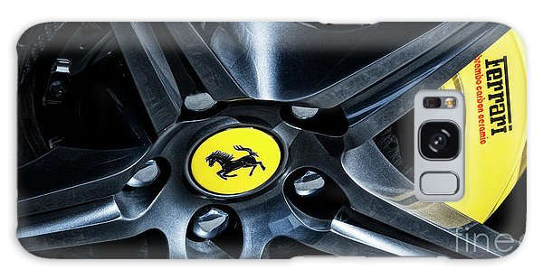 Ferrari Wheel I Galaxy Case