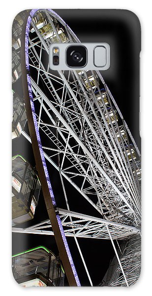 Ferris Wheel At Night 16x20 Galaxy Case