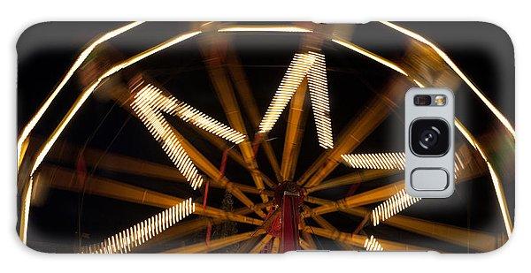 Ferris Wheel At Night Galaxy Case