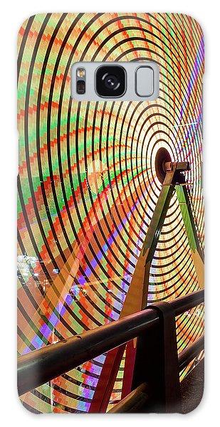 Galaxy Case - Ferris Wheel  Closeup Night Long Exposure by David Gn