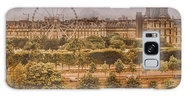 Paris, France - Ferris Wheel Galaxy Case