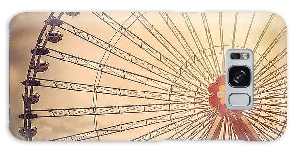Ferris Wheel Prater Park Vienna Galaxy Case by Carol Japp