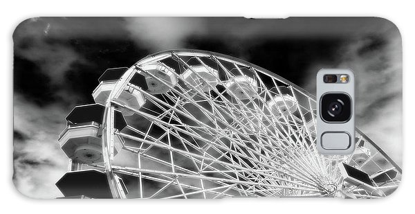 Santa Monica Galaxy Case - Ferris Wheel Santa Monica Pier by Bob LaForce