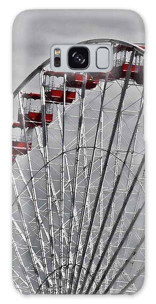 Ferris Wheel With Red Chairs Galaxy Case
