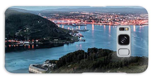 Ferrol's Estuary Panorama From La Bailadora Galicia Spain Galaxy Case