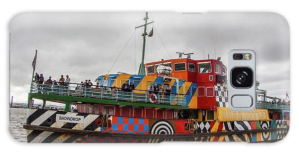 Ferry Cross The Mersey - Razzle Boat Snowdrop Galaxy Case