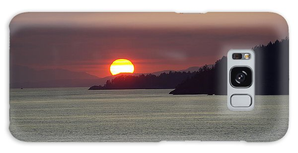 Ferry Sunset Galaxy Case