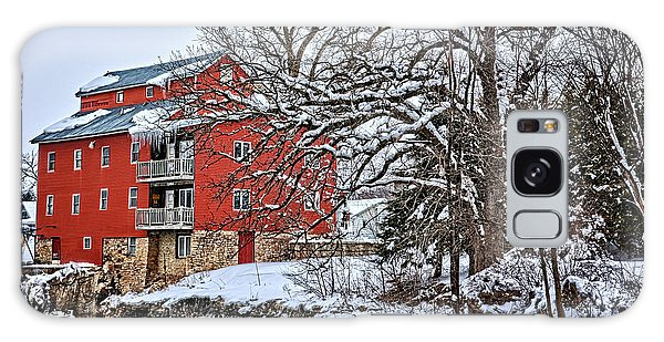 Fertile Winter Galaxy Case by Bonfire Photography