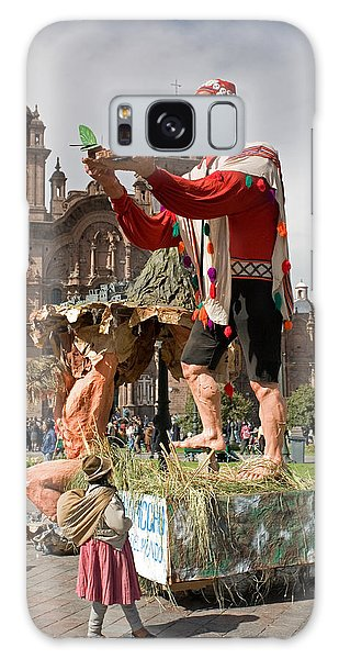 Festival In Cusco Galaxy Case